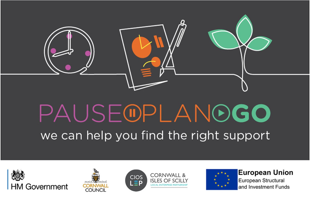 Growth Skills Hub - Pause Plan Go Logo - Support for local businesses